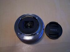 AS-IS Sony SEL 16-50mm f/3.5-5.6 OSS Lens for parts or repaire Silver