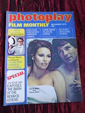 PHOTOPLAY - UK FILM MAG -JOHN WAYNE - RAQUEL WELCH - NOV 1976
