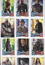 2013 TOPPS HERO ATTAX MARVEL THOR DARK WORLD PROMO CARD SET OF 30 FROM ENGLAND