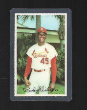 1971 Dell Team Stamps  Bob Gibson Laminated Cardinals