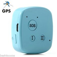 Mini Personal GPS GSM GPRS Tracker Locator SOS Tracking For Child Pets Dog Car