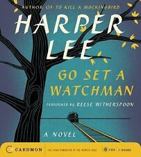 NEW Go Set a Watchman by Harper Lee 2015, CD Unabridged Audiobook Audio Book