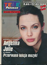 TELE PROGRAM 2000/18 (5/5/2000) ANGELINA JOLIE U2 CHAPLIN HANKS MURPHY (2)