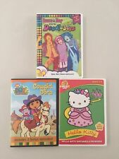 Doodlebops Dora And Bellow Kitty Dvd Lot
