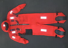 SCANDIA INSULATED IMMERSION SUIT WITH BUOYANCY PILLOW SOLAS UNDERWATER DIVING