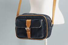 Authentic BURBERRY Burberry denim shoulder pouch BLUE LABEL 289f07