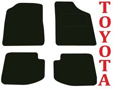 Toyota Yaris 1999-2006 Tailored Car mats 5 door Hatchback models 5dr
