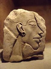 Egyptian art - Akhenaten sculpture fragment. Amarna period 18th dynasty Egypt