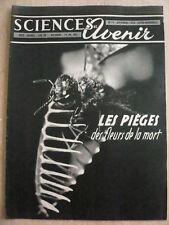 Sciences et Avenir n° 79 les pièges des fleurs de la mort. Cosmotron géant.