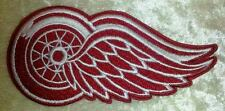 "Detroit Red Wings NHL Logo 4"" Iron On Embroidered Patch ~USA Seller~"