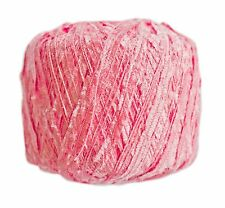 FEZA YARNS--TOKYO--SALE- RETAILS FOR $11.00-KNITS UP LIKE LACE! #130 Coral