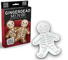 Gingerdead Men FRED Cookie Cutters Gingerbread Stampers Novelty Baking GIFT