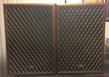 """Sansui SP-Z9II 5-way 6 Speaker Sys Wooden Grill Covers 16"""" Woofer 320 Watts Rare"""