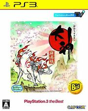 NEW PS3 Okami Zekkeiban HD Remastered the Best w/ Soundtrack CD JAPAN OFFICIAL