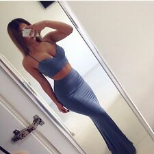 House of CB Celeb Boutique Cornflower Blue Sirena Crop Top The Dolls Bralet XS 8