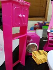 Barbie Doll Bathroom With Washing Machine