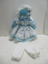 """NEW BEAUTIFUL COTTON Doll Dress For Vintage Antique or China 16"""" -18"""" DOLL"""