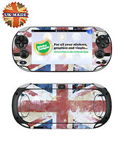 PS Vita Union Jack Vinyl Skin Decal  - Protective Playstation Vita Skin Stickers