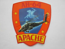 AUTOCOLLANT STICKER AUFKLEBER AH-64 APACHE HELICOPTER