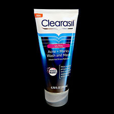Clearasil Acne + Marks Face Wash And Mask 0349402 Exp 5/15