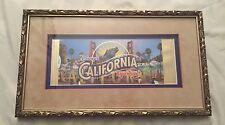 Authentic Disney California Adventure Opening Commemorative Passport Ticket #360
