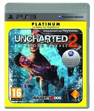 7398 // UNCHARTED 2 AMOND THIEVES POUR PS3 COMPLET EN TBE