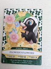 Sorcerers of the Magic Kingdom Flower's Flower Card 45/70