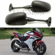 Black Motorcycle Mirrors Left & Right For 2000-2012 Suzuki GSXR 750 / GSX-R750