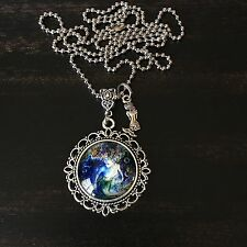 NAUTICAL BEACH OCEAN SEA LIFE FANTASY MERMAID CHARM PENDANT NECKLACE GIFT