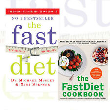 Michael Mosley and Mimi Spencer 2 Books Collection Set (The Fast Diet) New AUS