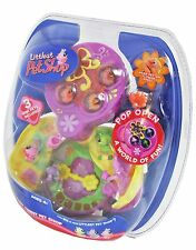 Littlest Pet Shop Teensies Tiniest Pet Shop On the Go Butterfly Garden Flower