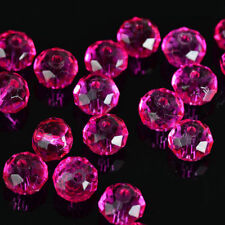 free shipping 300pcs rose exquisite Glass Crystal 3*4mm #5040 loose beads