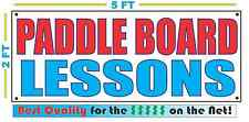 PADDLE BOARD LESSONS Banner Sign NEW Larger Size Best Quality for the $$$