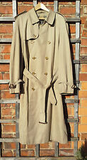 "Gentleman's Burberrys ""Prorsum"" Trench / Rain Coat / Mac (Chest 46ins)"