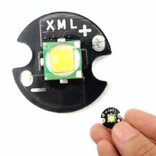 Cree Single-Die XM-L T6 LED 10W High Power Chip16mm Round Base for DIY White