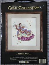 """Dimensions Gold Collection """"Harvest Angel"""" Counted Cross Stitch kit 14""""x16"""""""