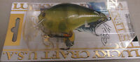 Lucky Craft RC 3.5 Square Bill Rick Clunn GHOST CHARTREUSE PERCH Fishing lure