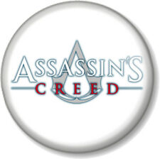 "Assassins Creed Logo 25mm 1"" Pin Button Badge XBOX 360 PS3 PS4 Video Game Geek"