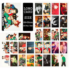 30pcs /set Cute Kpop EXO - CBX all members Photo Picture Poster Lomo Cards