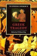 The Cambridge Companion to Greek Tragedy (Cambridge Companions to Literature), ,