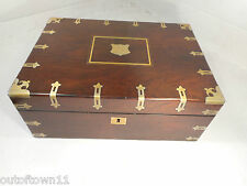 Antique Rosewood Writing Slope Box ,   ref 1349