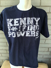 HBO Eastbound and Down Kenny F*!?ing Powers Large T-Shirt Retro Distressed
