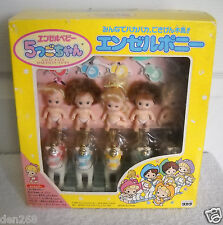 #5678 NRFB Takara Tyco Japan Quints Angel Baby Dolls with Horses & Cowboy Hats