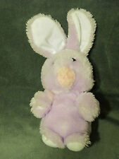 "10"" VINTAGE DAN BRECHNER PURPLE BUNNY RABBIT STUFFED ANIMAL PLUSH TOY RARE"
