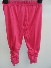 Girls Pink Ruched Leggings Age 9-12 Months Box4236 J