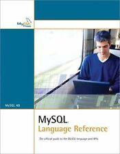 MySQL Language Reference