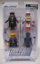 Minimates JAY and SILENT BOB STRIKE BACK Box Set Minifigs Bluntman Chronic NEW