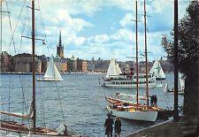 BR8597 Stockholm Sailin at Riddarfjarden ship bateaux  sweden
