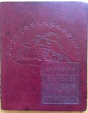 1940s WWII U.S. ARMY ENGINEERS TRAINING CENTER YEARBOOK, FORT LEONARD WOOD, MO