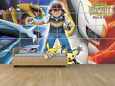 POKEMON ARCEUS AND THE JEWEL OF LIFE GEANT POSTER CHAMBRE ENFANTS ROOM KIDS